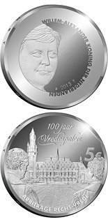 5 euro coin Peace Palace 100 Years | Netherlands 2013