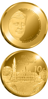 10 euro coin Peace Palace 100 Years | Netherlands 2013