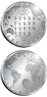 5 euro The Mill  - 2014 - Series: Silver 5 euro coins - Netherlands
