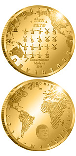 10 euro The Mill  - 2014 - Series: Gold 10 euro coins - Netherlands