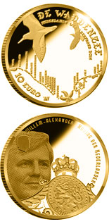 10 euro Wadden Vijfje - 2016 - Series: Gold 10 euro coins - Netherlands