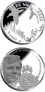 5 euro Wadden Vijfje - 2016 - Series: Silver 5 euro coins - Netherlands