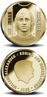 10 euro coin Sports Icons: Johan Cruyff | Netherlands 2017