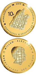 10 euro coin Beemster | Netherlands 2019