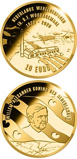 10 euro coin 100th anniversary of the Ir. D.F. Woudagemaal  | Netherlands 2020