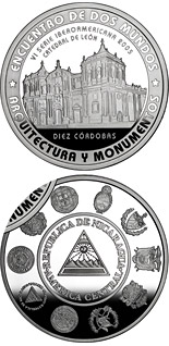10 córdoba coin Architecture and Monuments – Basilica Cathedral of the Assumption | Nicaragua 2005
