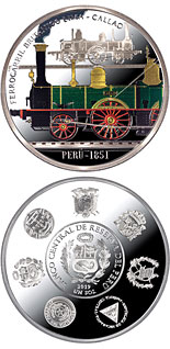 1 Nuevo Sol coin Historic Railways | Peru 2020