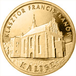 2 zloty Franciscan Monastery in Kalisz - 2011 - Series: Commemorative 2 zloty coins - Poland