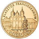 2 zloty Franciscan Monastery in Poznań - 2011 - Series: Commemorative 2 zloty coins - Poland