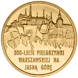 2 zloty 300th Anniversary of Warsaw Pilgrimage to the Marian Shrine of Jasna Góra in Częstochowa  - 2011 - Series: Commemorative 2 zloty coins - Poland