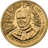 2 zloty coin Beatification of John Paul II – 1 May 2011  | Poland 2011