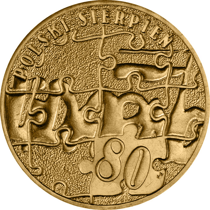 Image of a coin 2 zloty | Poland | Polish August of 1980  | 2010