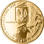 2 zloty coin 90th Anniversary of the Battle of Warsaw  | Poland 2010