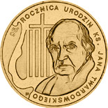 2 zloty 95th Anniversary of the Birth of rev. Jan Twardowski  - 2010 - Series: Commemorative 2 zloty coins - Poland