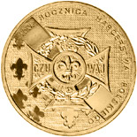 2 zloty coin 100th Anniversary of Polish Scouting  | Poland 2010