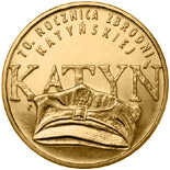 2 zloty 70th Anniversary of the Katyń Crime  - 2010 - Series: Commemorative 2 zloty coins - Poland