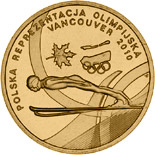 2 zloty coin Polish Olympic Team Vancouver 2010  | Poland 2010