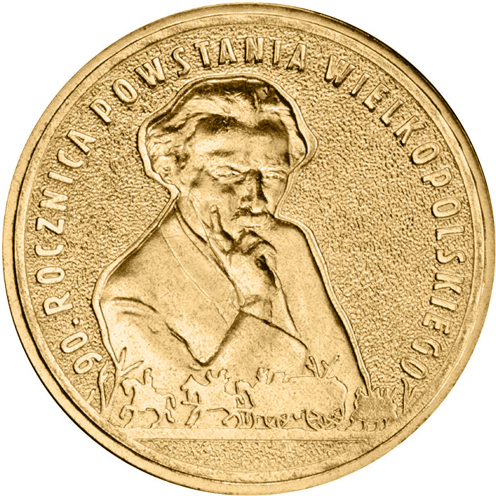 Image of a coin 2 zloty | Poland | 90th Anniversary of the Greater Poland Uprising  | 2008