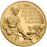 2 zloty 400th Anniversary of Polish Settlement in North America  - 2008 - Series: Commemorative 2 zloty coins - Poland