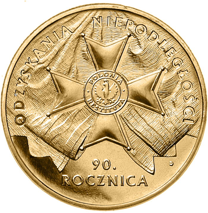 2 zloty 90th Anniversary of Regaining Independence by Poland  - 2008 - Series: Commemorative 2 zloty coins - Poland