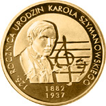 2 zloty coin 125th Anniversary of Karol Szymanowski's Birth | Poland 2007