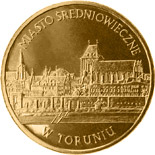 2 zloty Medieval Town of Toruń  - 2007 - Series: Commemorative 2 zloty coins - Poland