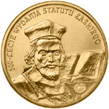 2 zloty 500th Anniversary of Proclamation of the Jan Łaski's Statute  - 2006 - Series: Commemorative 2 zloty coins - Poland