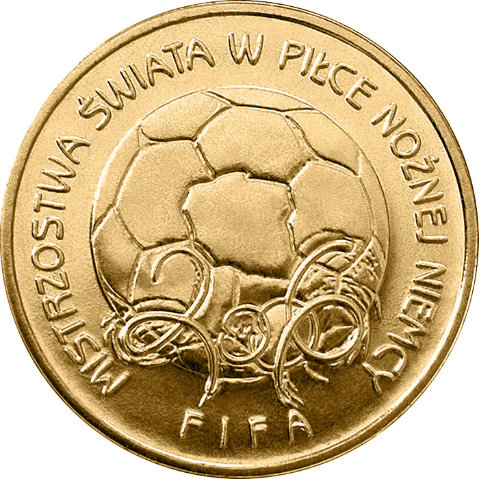 Image of a coin 2 zloty | Poland | The 2006 FIFA World Cup Germany | 2006