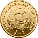 2 zloty coin The 2006 FIFA World Cup Germany | Poland 2006