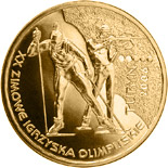 2 zloty coin XXth Olympic Winter Games Turin 2006  | Poland 2006