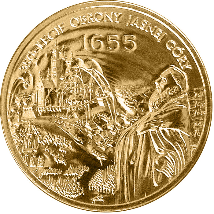 Image of a coin 2 zloty | Poland | The 350th Anniversary of Defence of Jasna Góra in Częstochowa  | 2005