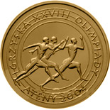 2 zloty coin XXVIIIth Olympic Games - Athens 2004  | Poland 2004