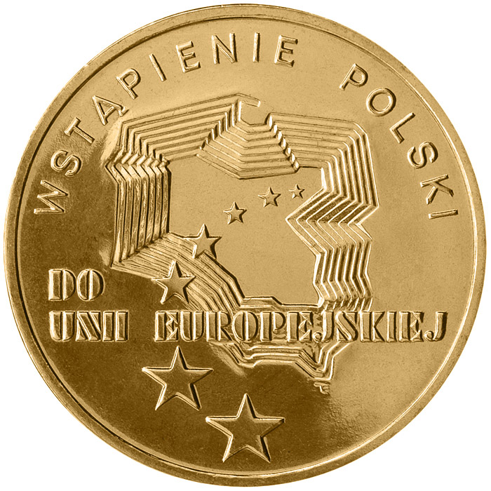 Image of a coin 2 zloty | Poland | Poland´s Accession to the European Union  | 2004