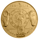 Image of a coin 2 zloty | Poland | 750th anniversary of the granting municipal rights to Poznań  | 2003
