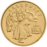 2 zloty coin Carolers  | Poland 2001