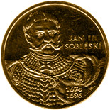 2 zloty Jan III Sobieski (1674-1696)  - 2001 - Series: Commemorative 2 zloty coins - Poland