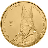 2 zloty coin 100th centenary of Priest Cardinal Stefan Wyszyński's birth | Poland 2001