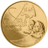 2 zloty coin The 20th Anniversary of forming the Solidarity Trade Union  | Poland 2000
