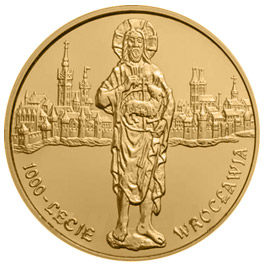 Image of a coin 2 zloty | Poland | Wrocław millenium  | 2000