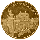 2 zloty Palace in Wilanów  - 2000 - Series: Commemorative 2 zloty coins - Poland
