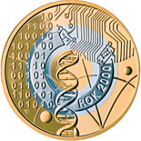 2 zloty coin The Year 2000 - the turn of millenniums  | Poland 2000
