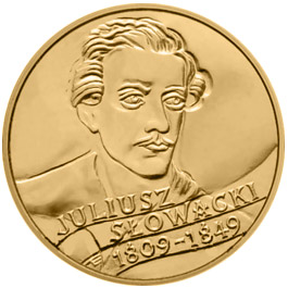 Image of a coin 2 zloty | Poland | 150th anniversary of Juliusz Slowacki's death (1809 - 1849)  | 1999