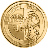 2 zloty coin Poland's accession to NATO  | Poland 1999