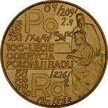 2 zloty coin 100th Anniversary of Discovering Polonium and Radium | Poland 1998