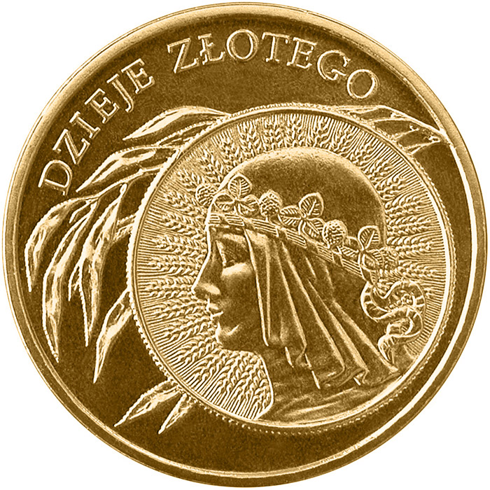 Image of 2 zloty coin - 10 zloty of 1932 issue  | Poland 2006.  The Nordic gold (CuZnAl) coin is of UNC quality.