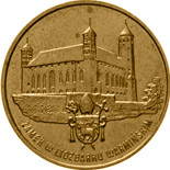 2 zloty Castle in Lidzbark Warmiński - 1996 - Series: Commemorative 2 zloty coins - Poland