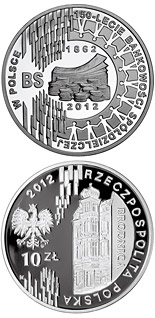 10 zloty coin 150 Years of Cooperative Banking in Poland | Poland 2012