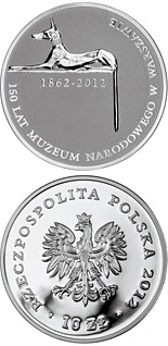 10 zloty coin 150 Years of the National Museum in Warsaw | Poland 2012