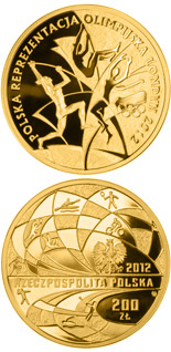 200 zloty coin Polish Olympic Team – London 2012 | Poland 2012