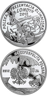 10 zloty coin Polish Olympic Team – London 2012 | Poland 2012
